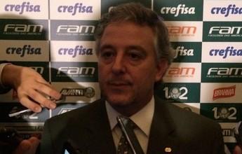 """Nobre evita polêmica com Modesto: """"Não cabe ao Palmeiras decidir"""""""