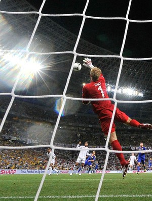 Hart - inglaterra  x Ucr&#226;nia (Foto: Ag&#234;ncia AFP)