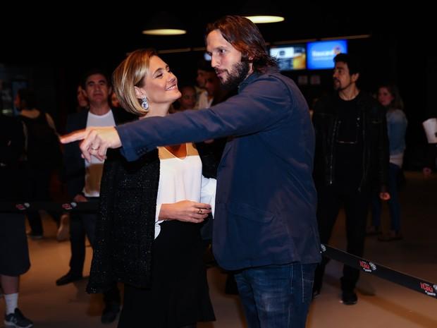 Adriana Esteves e Vladmir Birchta lançam filme (Foto: Manuela Scarpa/Photo Rio News)