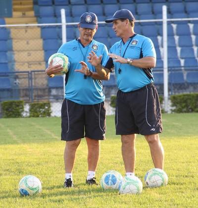 Luizinho Rangel e Paulo Roberto São Caetano (Foto: Divulgação)