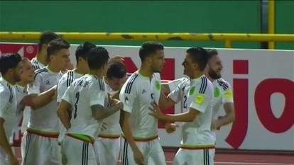 O gol de Trinidad e Tobago 0 x 1 México pelas Eliminatórias da Copa do Mundo de 2018