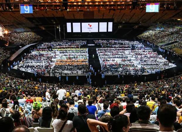 Estádio do Maracanã foi palco do encerramento da Paralimpíada Rio 2016 (Foto: Glaucon Fernandes/AgNews)