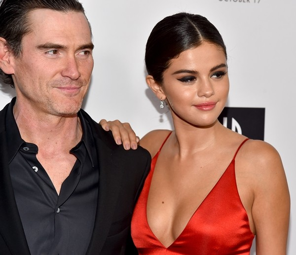 Billy Crudup e Selena Gomez  (Foto: Getty Images)