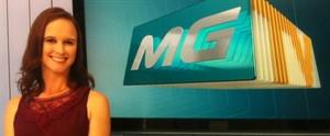 Bancada do MG Inter TV 1ª edição tem nova apresentadora (Taislaine Antunes)