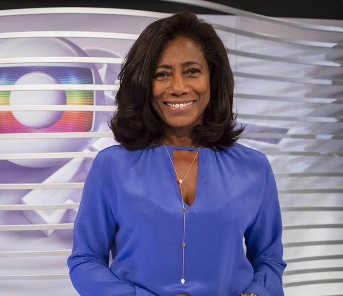 Glória Maria revela vontade de diminuir os seios (Foto: Globo/Tata Barreto )