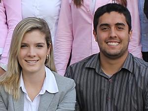 Ana Luiza Faraco e Ricardo Prado (Foto: Divulgação/EJEP)