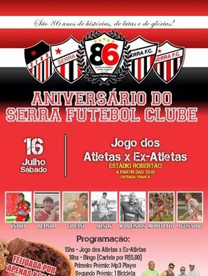 Serra FC (Foto: Divulgação/Facebook)