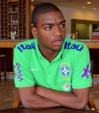 Caio Rangel Brasil seleção brasileira sub-20 Flamengo Cagliari (Foto: Danilo Sardinha)