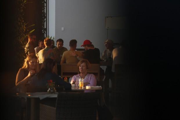 Ed Sheeran no Rio (Foto: AgNews)