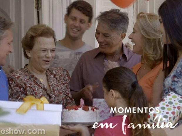 Momentos em família promete emocionar (Foto: Em Família/TV Globo)