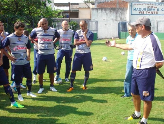 Luiz Cláudio Souza, técnico do Madureira (Foto: Divulgação)