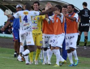 Cianorte comemora vitória sobre o Arapongas (Foto: Andye Iore/Site oficial do Cianorte)