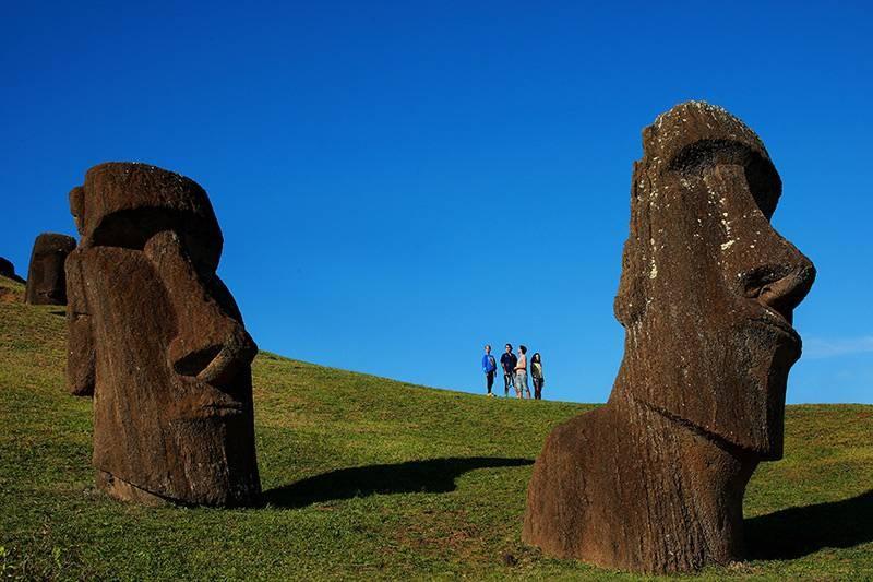 Ilha de Pscoa (Foto: Divulgao)