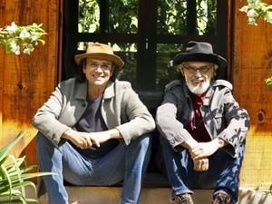 Almir Sater e Renato Teixeira (Foto: Divulgação/Facebook/Página da artista (Almir Sater))