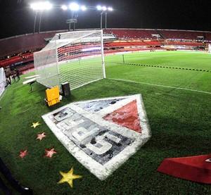 São Paulo X Atlético Nacional - Morumbi (Foto: Marcos Ribolli)