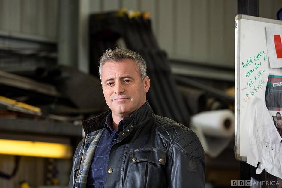 Matt Le Blanc, ator interpretava Joey no seriado Friends; Hoje, apresentador do programa Top Gear (Foto: Reprodução/Facebook)