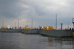 Terminais partem com destino aos municípios (Foto: Seinfra/Divulgação)