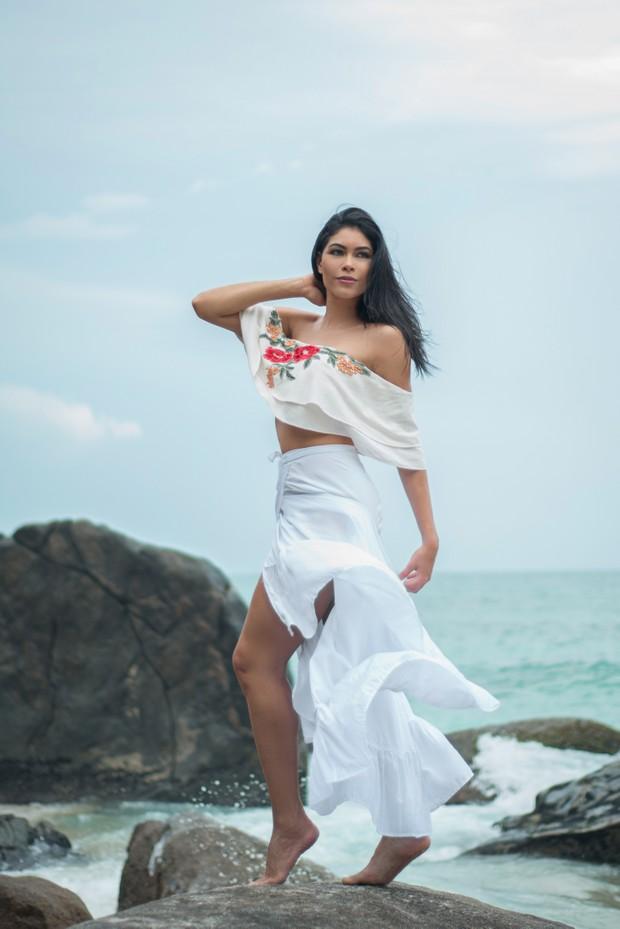Sheislane Hayalla faz balanço de 2016 (Foto: Mauro Jorge / MF Models Assessoria/Divulgação)