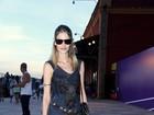 Famosos vão ao último dia de Fashion Rio