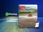 Chuva forte alaga avenidas e traz transtorno a Rio Preto