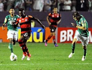 Fernandinho na partida do Flamengo contra o Palmeiras (Foto: Alexandre Vidal / Fla Imagem)