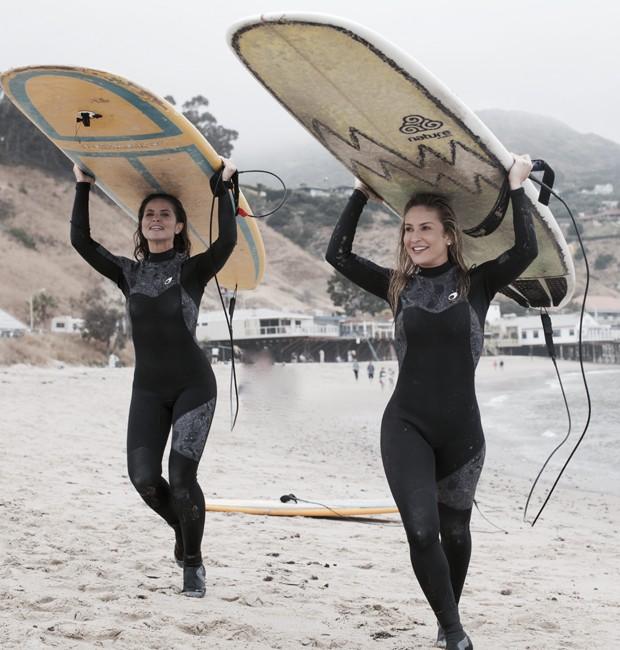 Juliana Sana e Claudia Leitte (Foto: Divulgação/TV Globo)