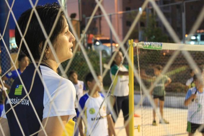 Norma Rodrigues  Badminton Piauí Febapi (Foto: Náyra Macêdo)