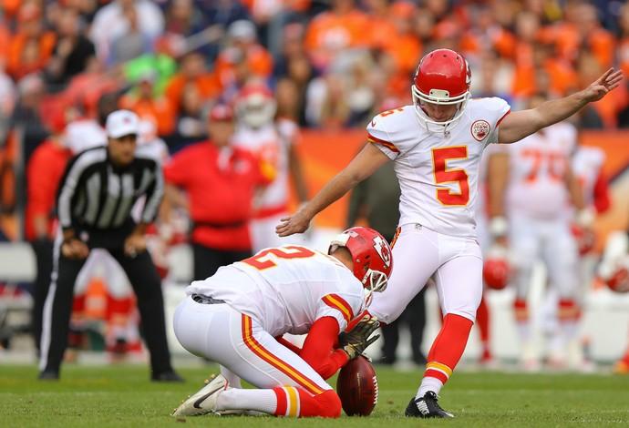 Cairo Santos, Kansas City Chiefs x Denver Broncos, NFL (Foto: Getty Images)
