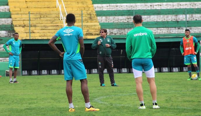 Chapecoense treino (Foto: Cleberson Silva/Chapecoense)