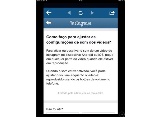 Como ativar e desativar o som de um vídeo no Instagram (Foto: Reprodução/ Lívia Dâmaso)