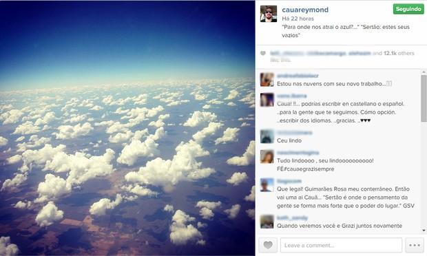 Cauã Reymond (Foto: Instagram / Reprodução)