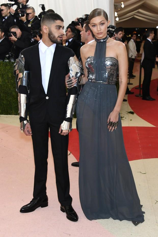 Zayn e Gigi Hadid (Foto: AFP)