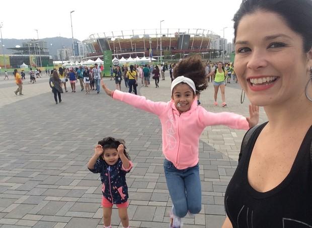 Samara Felippo e as filhas, Alicia e Lara (Foto: Arquivo pessoal/ Samara Felippo)