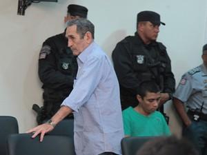 Acusado José de Alencar Miranda Carvalho, o Miranda, pai de Gláucio Alencar (Foto: Biné Moraes/O Estado)