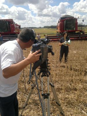 Programa é feito de diversas partes do RS e de SC (Foto: Divulgação/ RBS TV)