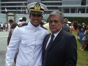 Pai do tenente, Saumir Portugal,  diz que filho foi diagnosticado com traumatismo craniano e rabdomiólise (Foto: Reprodução/Arquivo pessoal )