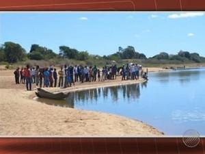 Seis jovens desapareceram durante retiro religioso no domingo (Foto: Reprodução/TV Bahia)