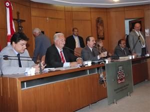 Às vésperas de 2013, vereadores apreciaram 12 vetos do Executivo (Foto: Divulgação/CMJP)