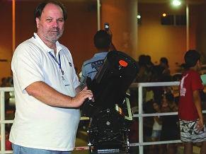 Celso Cunha, presidente da Fundação Planetário  (Foto: Divulgação)