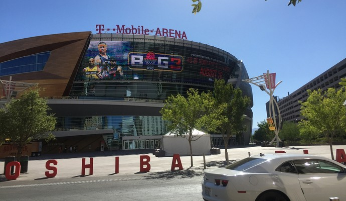 T-Mobile Arena; Las Vegas (Foto: Evelyn Rodrigues)