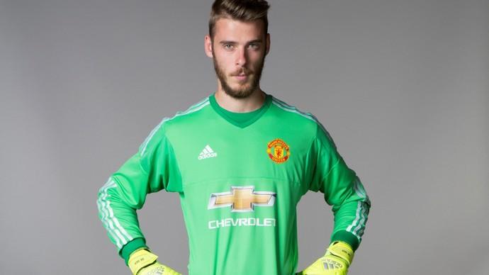 De Gea renova com o Manchester United (Foto: Divulgação / Manchester United)