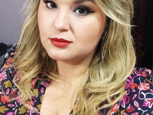 Paula conta que autoestima aumentou quando criou blog (Foto: Arquivo pessoal)