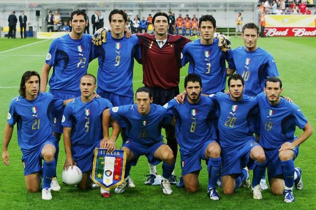 21fa53fc5fb08 Seleção da Itália 2006 (Foto  Getty ...