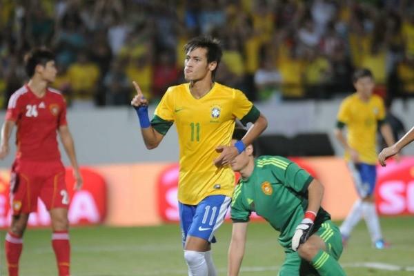 Veja os melhores momentos do 8x0 da Seleção (Foto: Aldo Carneiro/Pernambuco Press)