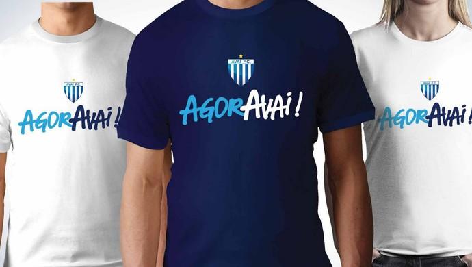 AgorAvaí campanha Avaí (Foto: Reprodução)
