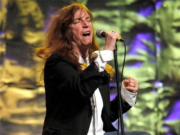 A cantora e compositora Patti Smith recebeu um prêmio pelo conjunto da obra (Foto: Reuters)