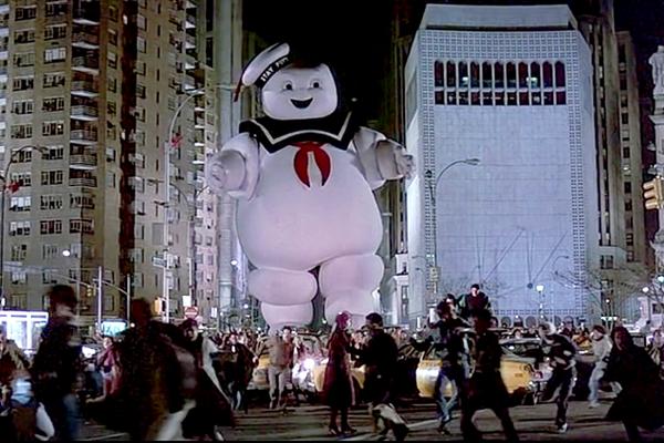 Homem Marshmallow – Ghostbusters (1984) (Foto: Divulgação)