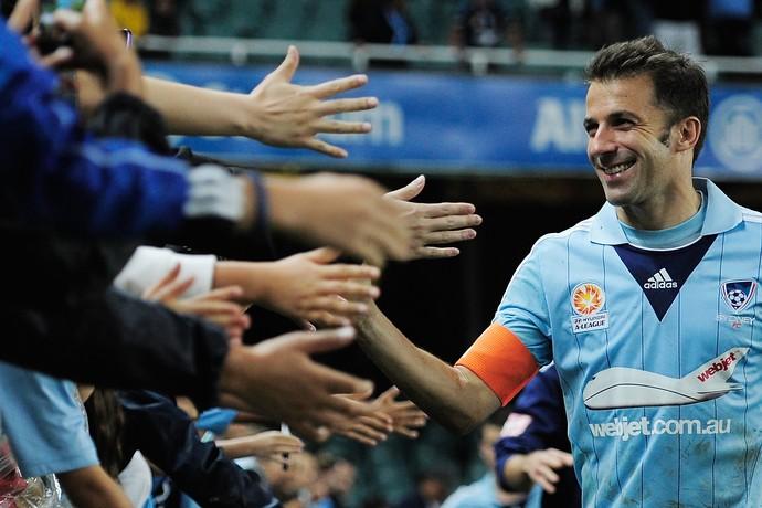 Del Piero jogou três anos no Sidney FC da Austrália (Foto: Getty Images)