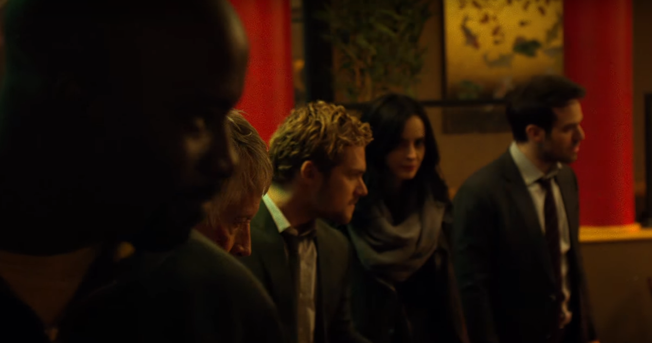 Cena do trailer de Defensores, série da parceria entre Marvel e Netflix (Foto: Reprodução/Youtube)