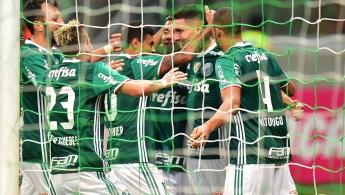 No embalo do l�der: Palmeiras goleia o Figueirense com tranquilidade em SP